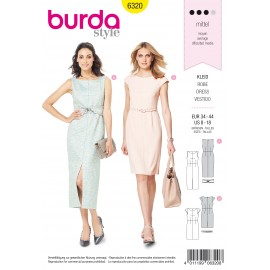 Dress Sewing Pattern - Burda Women N°6320