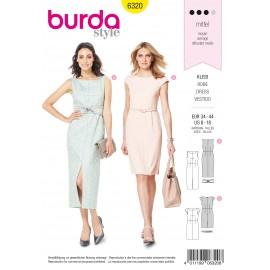 Patron Robe Femme Burda N°6320