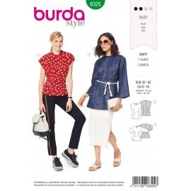 Blouse Sewing Pattern - Burda Women N°6325