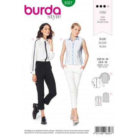 Patron Chemisier Femme Burda N°6327