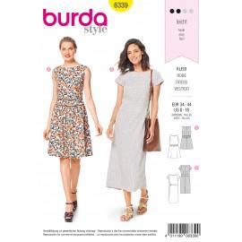 Patron Robe Femme Burda N°6339