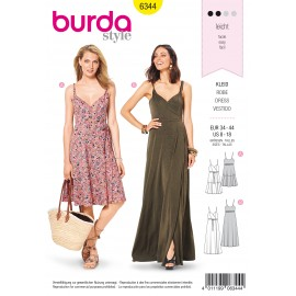 Wrap Skirt Sewing Pattern - Burda Women N°6344