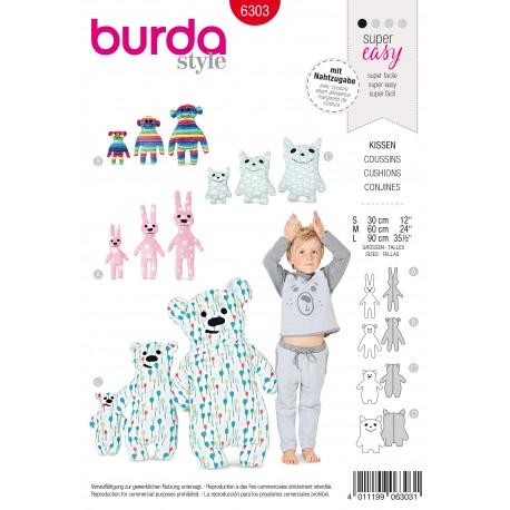 Patron Coussin pour Enfants Burda N°6303