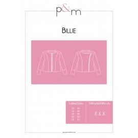 Patron P&M Patterns Veste Billie - De 34 à 52