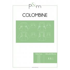 Blouse Sewing Pattern - P&M Patterns Colombine