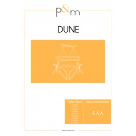 Swimsuit Sewing Pattern - P&M Patterns Dune
