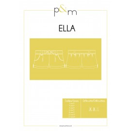 Shorts Sewing Pattern - P&M Patterns Ella