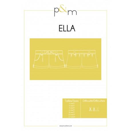 Shorts Sewing Pattern - P&M Patterns Ella