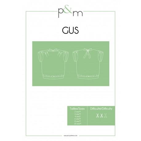 Patron P&M Patterns Top Gus - De 2 à 10 ans