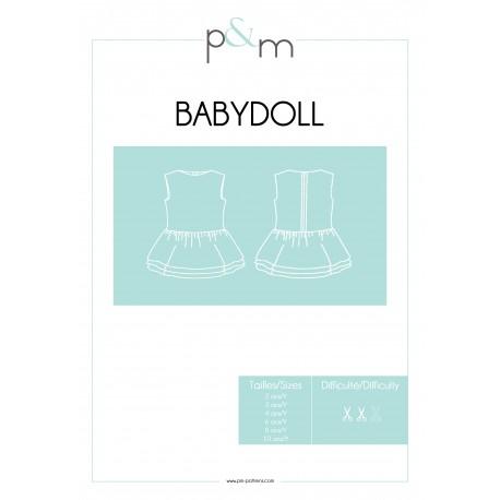 Patron P&M Patterns Robe Babydoll - De 2 à 10 ans