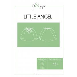 Patron P&M Patterns Blouse Little Angel - De 2 à 12 ans