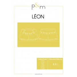 Short Sewing Pattern - P&M Patterns Leon