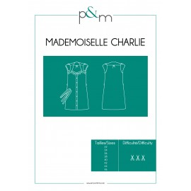 Adult Dress Sewing Pattern - P&M Patterns Mlle Charlie