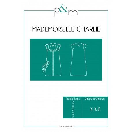 Patron P&M Patterns Robe Mlle Charlie - Du 32 au 46