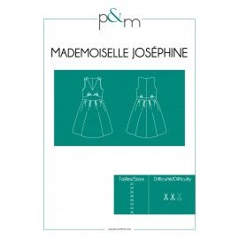 Adult Dress Sewing Pattern - P&M Patterns Mlle Josephine