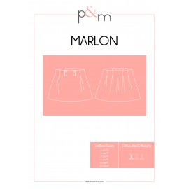 Patron P&M Patterns Jupe Marlon - Du 2 au 10 ans