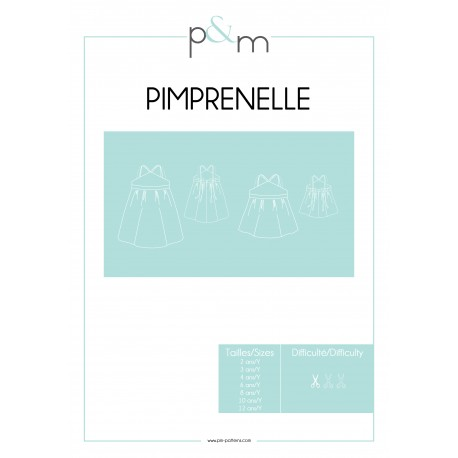 Kid Dress Sewing Pattern - P&M Patterns Pimprenelle