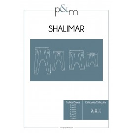 Kid Pants Sewing Pattern - P&M Patterns Shalimar