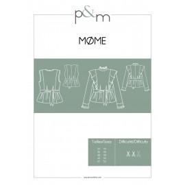 Patron P&M Patterns Blouse Mome - Du 34 au 52