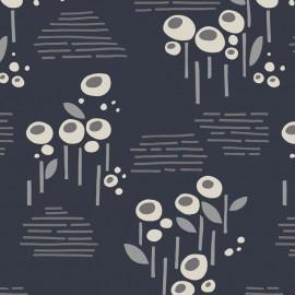 Tissu Rayonne Dashwood studio Cassie - gris x 10cm