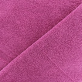 Tissu Polaire - Rose orchidée x10cm