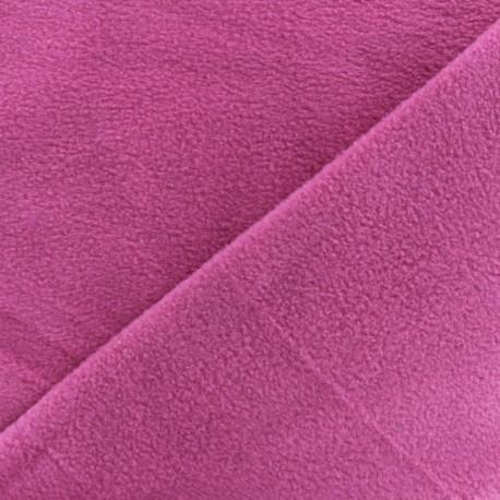 Tissu Polaire magenta  x10cm