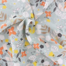 Dashwood Rayon fabric - Grey Emmy x 10cm