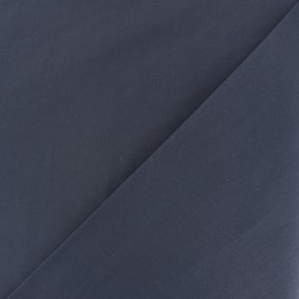 Cotton Voile Fabric - navy blue x 10cm