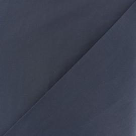 Tissu voile de coton - bleu cobalt x 10cm