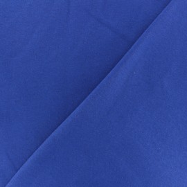Thick Sweatshirt fabric - royal blue Arthur x 10cm