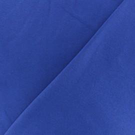 Tissu sweat molletonné épais Arthur - bleu royal x 10cm