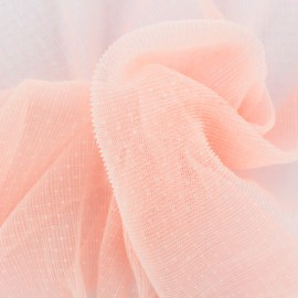 Tulle plissé Point d'esprit Dorine - rose clair x 10cm