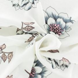 Tissu rayonne Nagoya - écru x 20cm