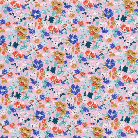 Tissu Liberty - California Bloom C x 10cm