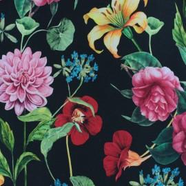 Tissu Jersey Florilège botanique - écru x 10cm