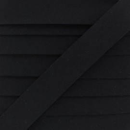20 mm Organic Bias Binding - Black