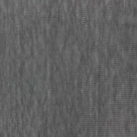 Tissu Maille légère ajourée - gris x 10cm