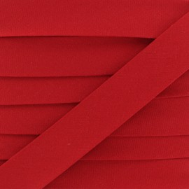 20 mm Organic Bias Binding - Red