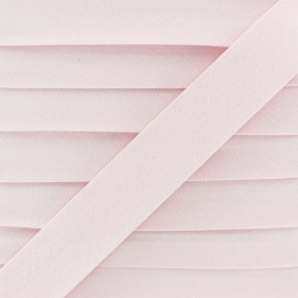 20 mm Organic Bias Binding - Pink x 1m