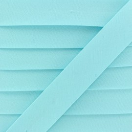 20 mm Organic Bias Binding - Aqua