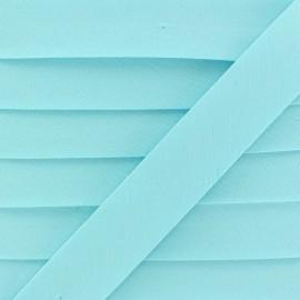 Biais Coton Bio 20 mm - Aqua