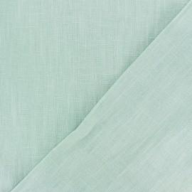 Tissu lin lavé (laize: 135cm) - Opaline x 10cm