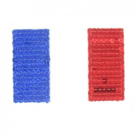 "Spangled ""France"" Flag iron-on applique - multicolored"
