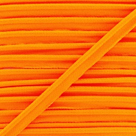 Neon Elastic Piping - Orange x 1m