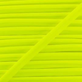 Neon Elastic Piping - Yellow x 1m