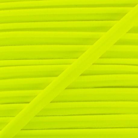 Neon Elastic Piping - Yellow x 1m
