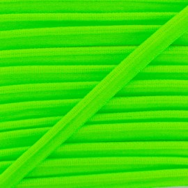 Neon Elastic Piping - Green x 1m