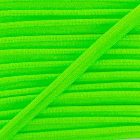 Neon Elastic Piping - Green x 1m