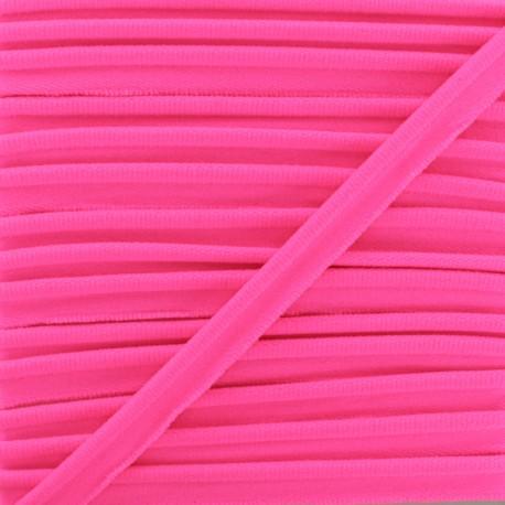 Passepoil Élastique Fluo - Rose x 1m