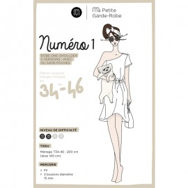 Adult Dress Sewing Pattern - MPGR Number 1